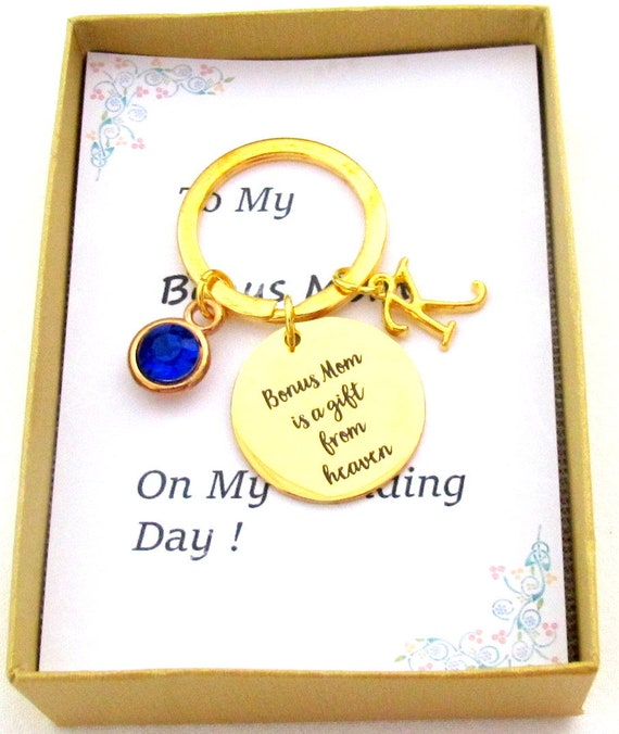 Best Bonus Mom Gift,Bonus Mom is a gift from Heaven, Step Mom gift, Godmother gift,Mother In Law gift,Thank you Bonus Mom, Free Shipping USA
