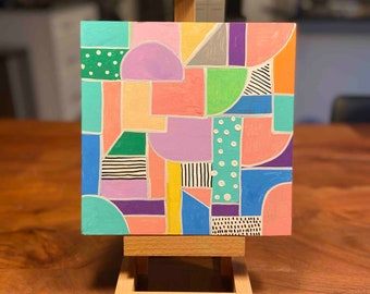 8x8 Color Collection I Original Painting I Art For Sale Cincinnati, OH I Acrylic Art for sale by fine artist Wendy Owens