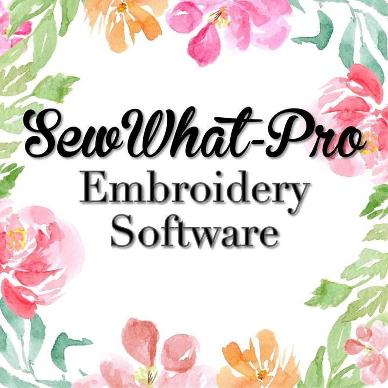 FREE Design w/Purchase | SewWhat-Pro Machine Embroidery Editing Software  SWP Sew What Pro