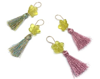 Tropical Flower Earrings