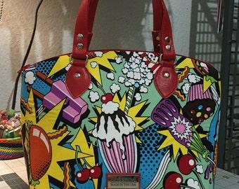 Midnight Snack Domed Handbag (Swoon Lola) Alexander Henry