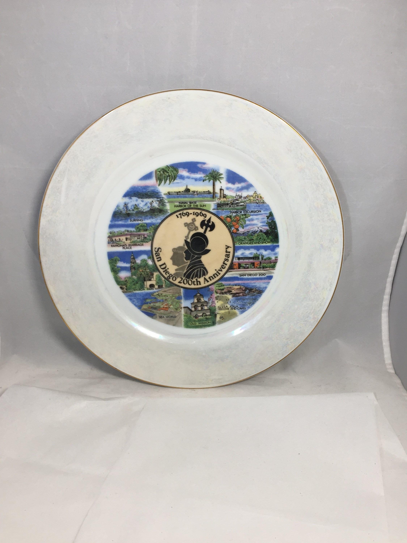 Image 1 of Vintage San Diego Souvenir Plate