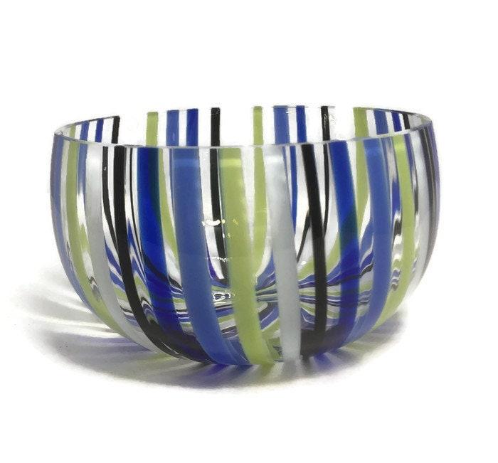 Image 2 of Mid century Murano Glass bowl by Venini