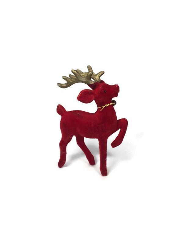 Image 0 of Vintage Christmas Reindeer