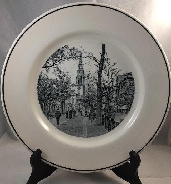 Image 4 of Vintage Copeland Spode Boston Plate
