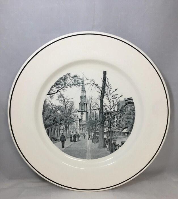 Image 3 of Vintage Copeland Spode Boston Plate