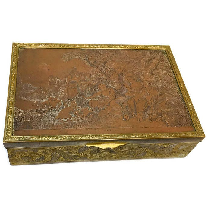 Antique French Trinket Box