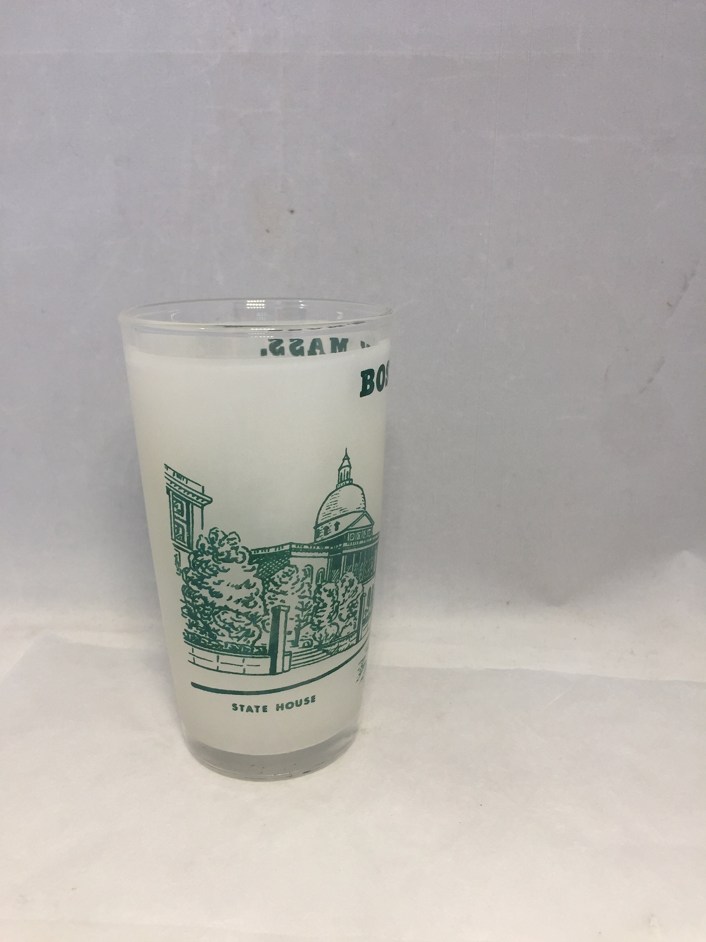 Image 3 of Vintage Boston Massachusetts Souvenir Glass