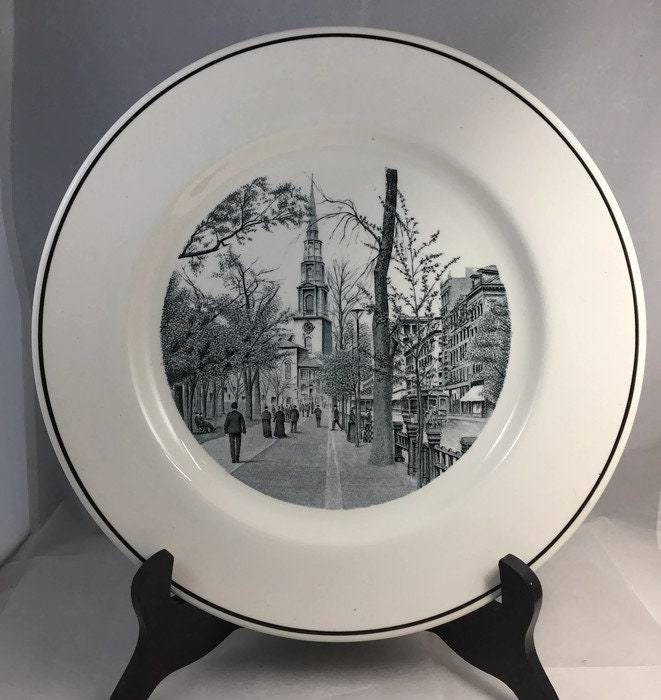 Image 8 of Vintage Copeland Spode Boston Plate