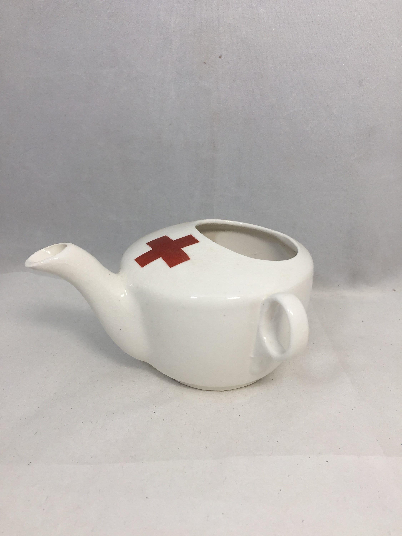 Vintage Ceramic Invalid Feeding Cup