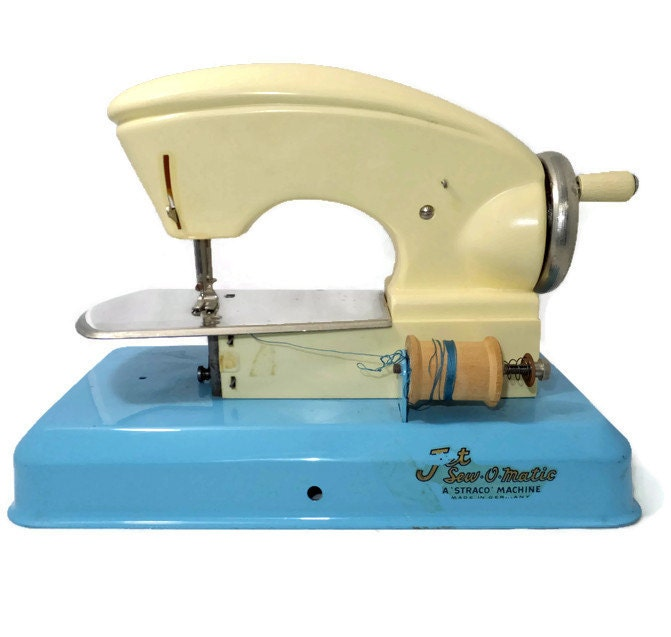 Vintage Jet Sew O Magic Toy Sewing Machine