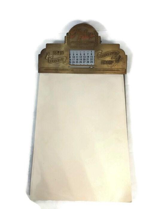 Midcentury Note Pad Holder