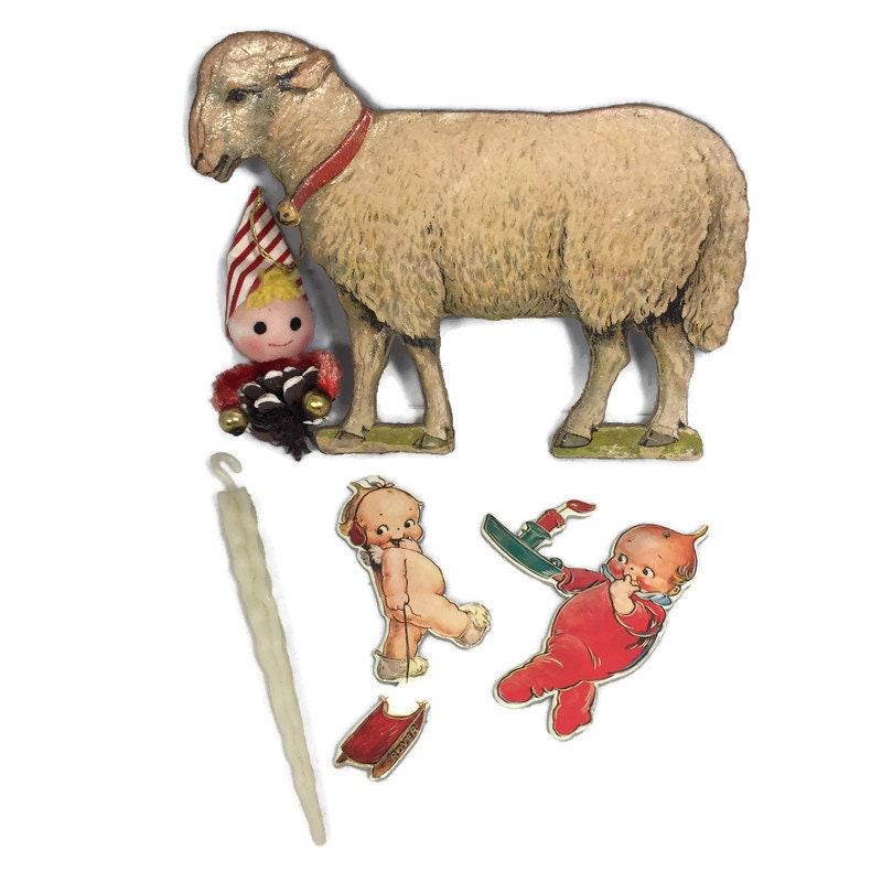 Image 0 of Vintage Christmas Ornaments