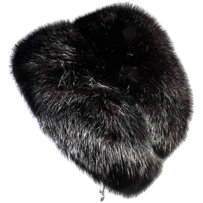 ef2eca5b8f2 Vintage Dior Fur Hat Christian Dior chapeaux Paris New