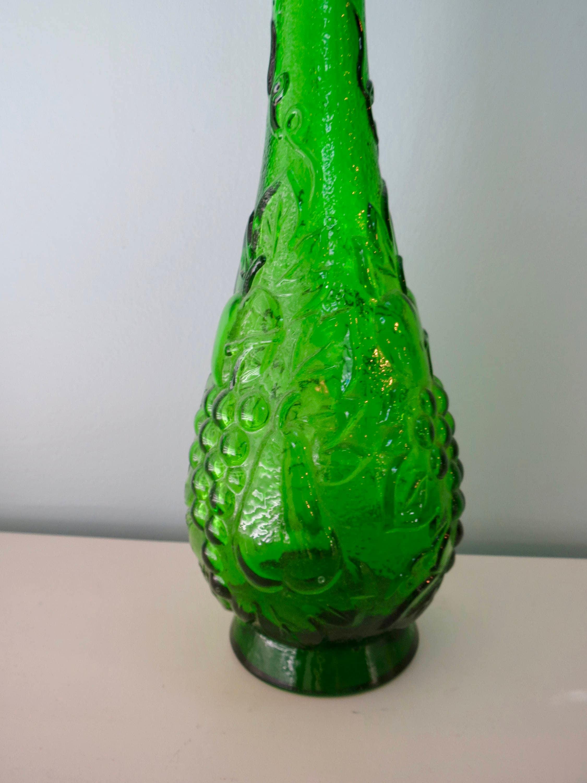 Image 8 of Mid Century Empoli Glass Bottle