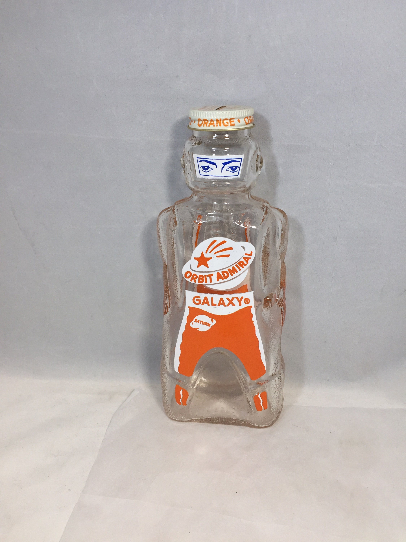 Vintage Spaceman Glass Bank