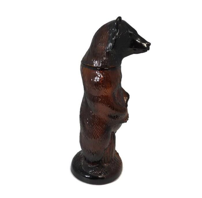 Image 3 of Vintage Kodiak Bear Bottle