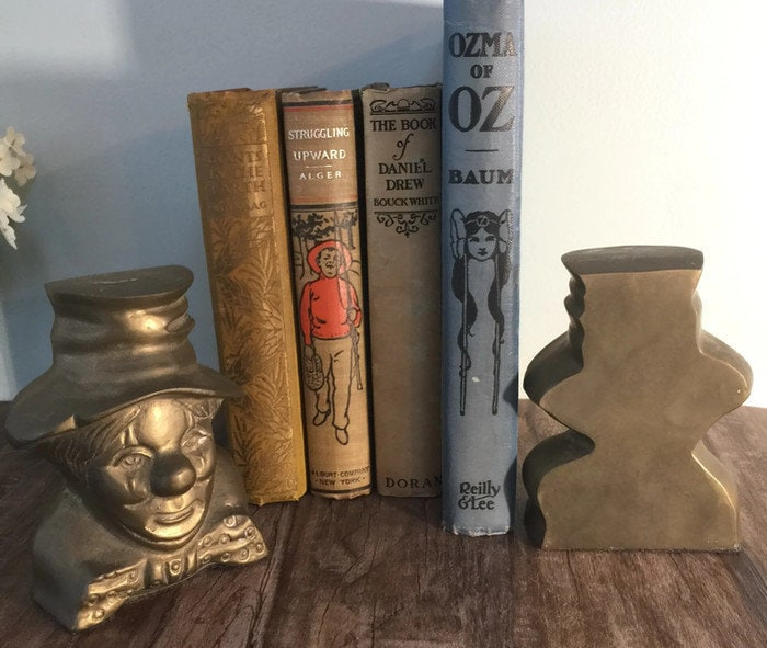 Image 4 of Vintage Clown Bookends