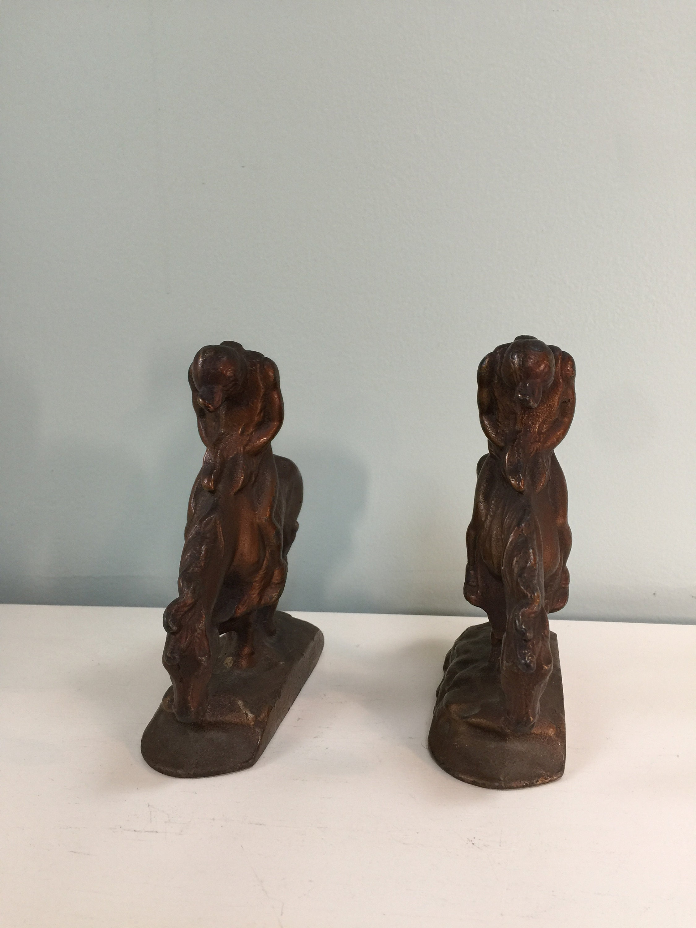 Image 2 of Vintage End of The Trail Bookends