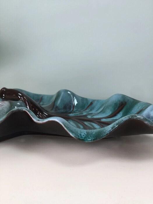 Midcentury Blue Mountain Pottery Dish