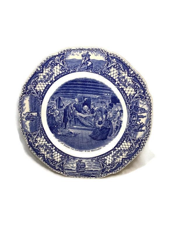 Vintage Crown Ducal Dinner Plate