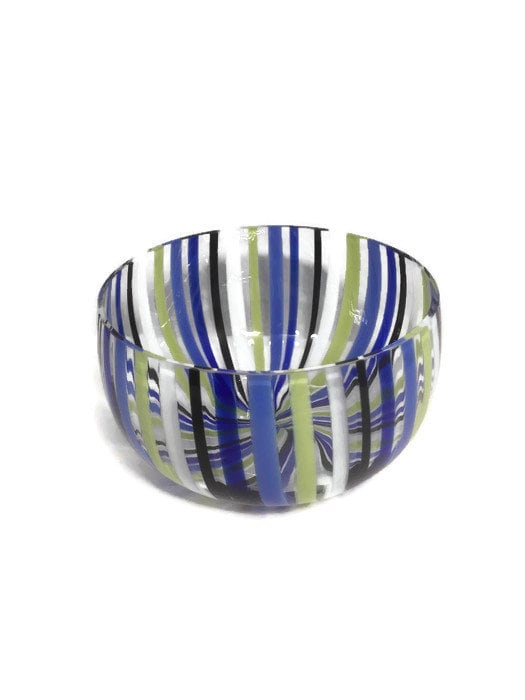 Mid century Murano Glass bowl by Venini