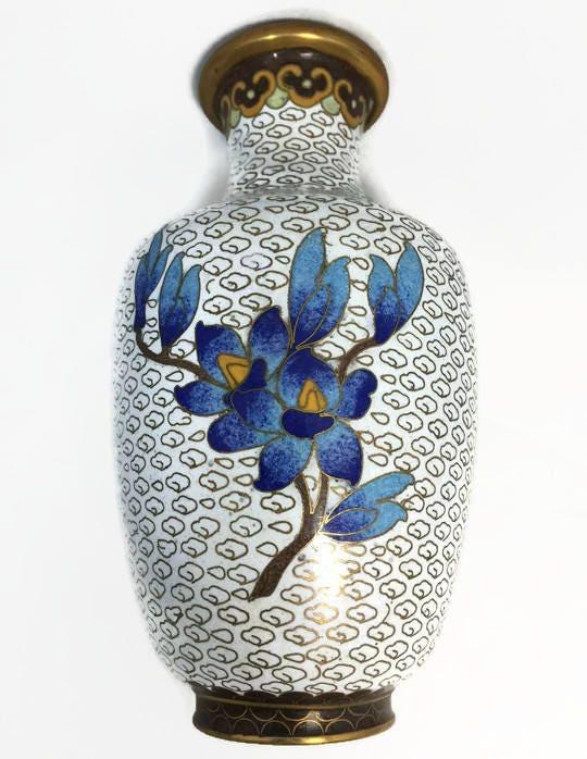 Image 8 of Vintage Cloisonne Vase