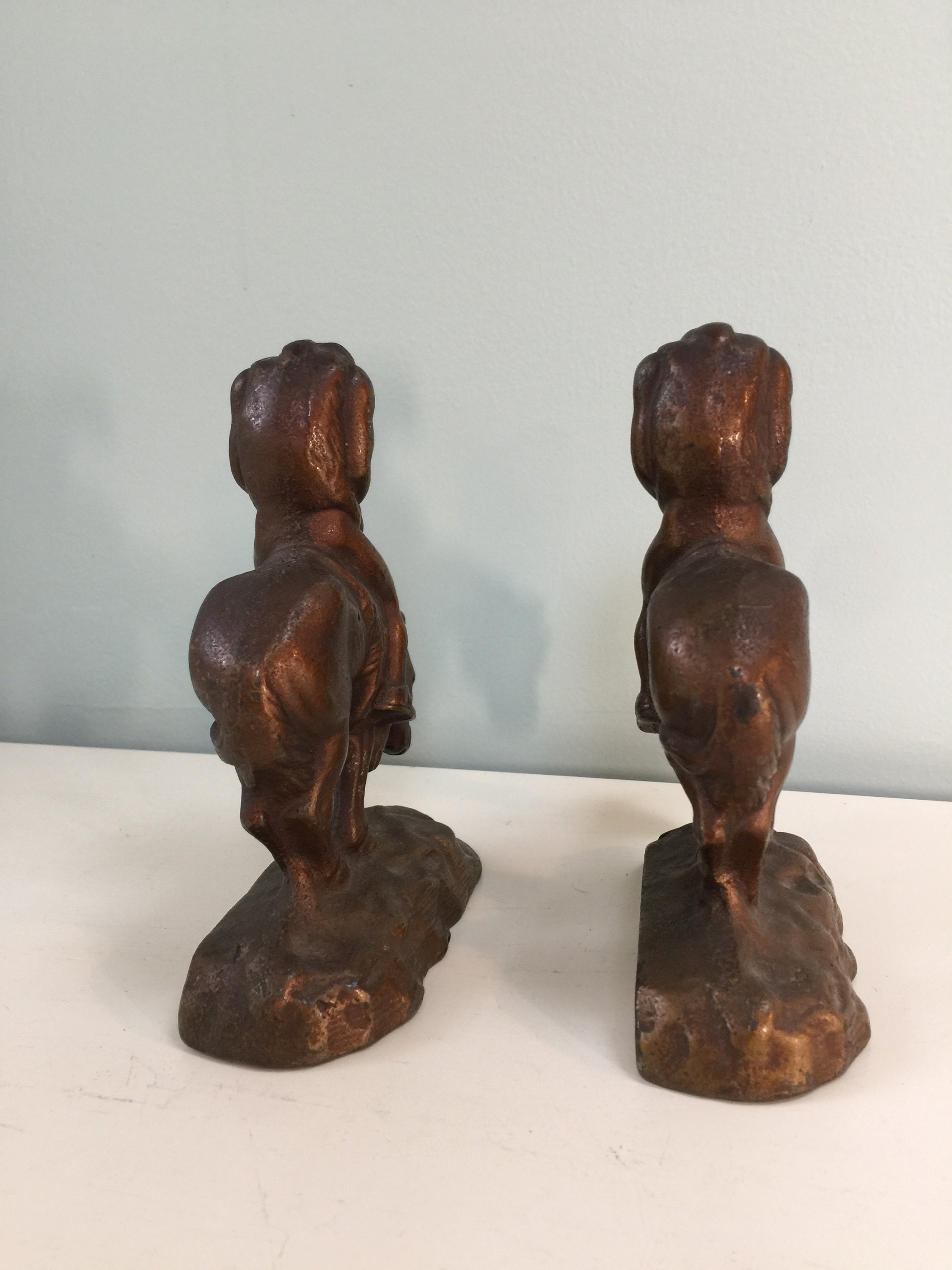Image 4 of Vintage End of The Trail Bookends
