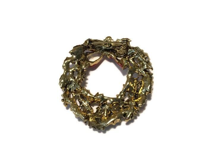 Image 5 of Christmas Wreath Pin