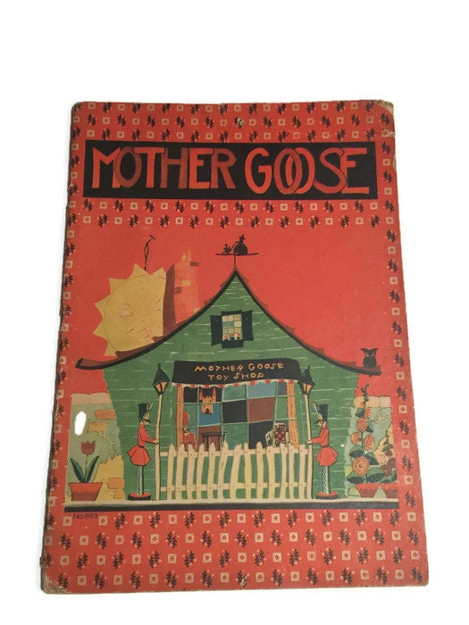 1932 Mother Goose Book
