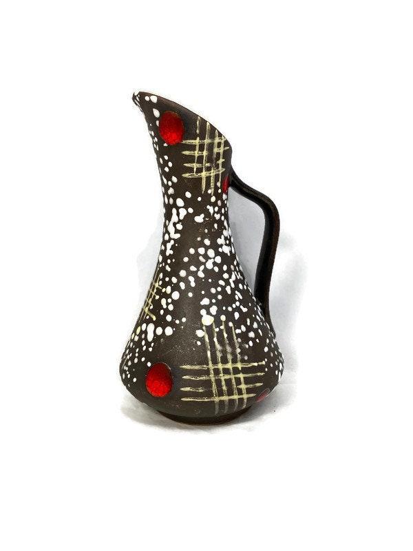 Midcentury German Ceramic Pitcher