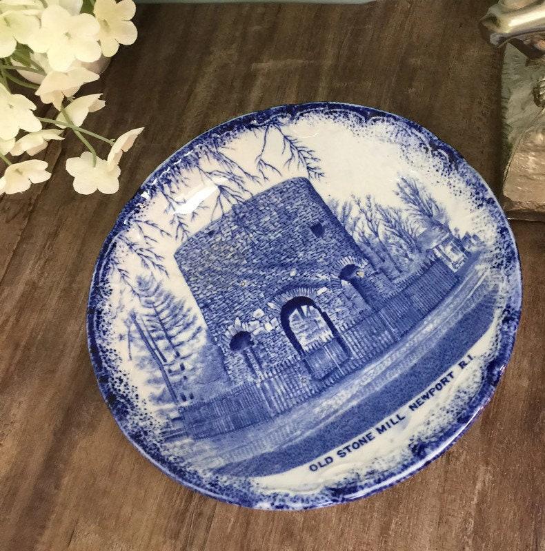 Antique Newport Rhode Island Dish