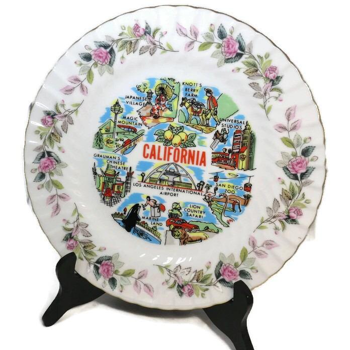 Vintage California Plate