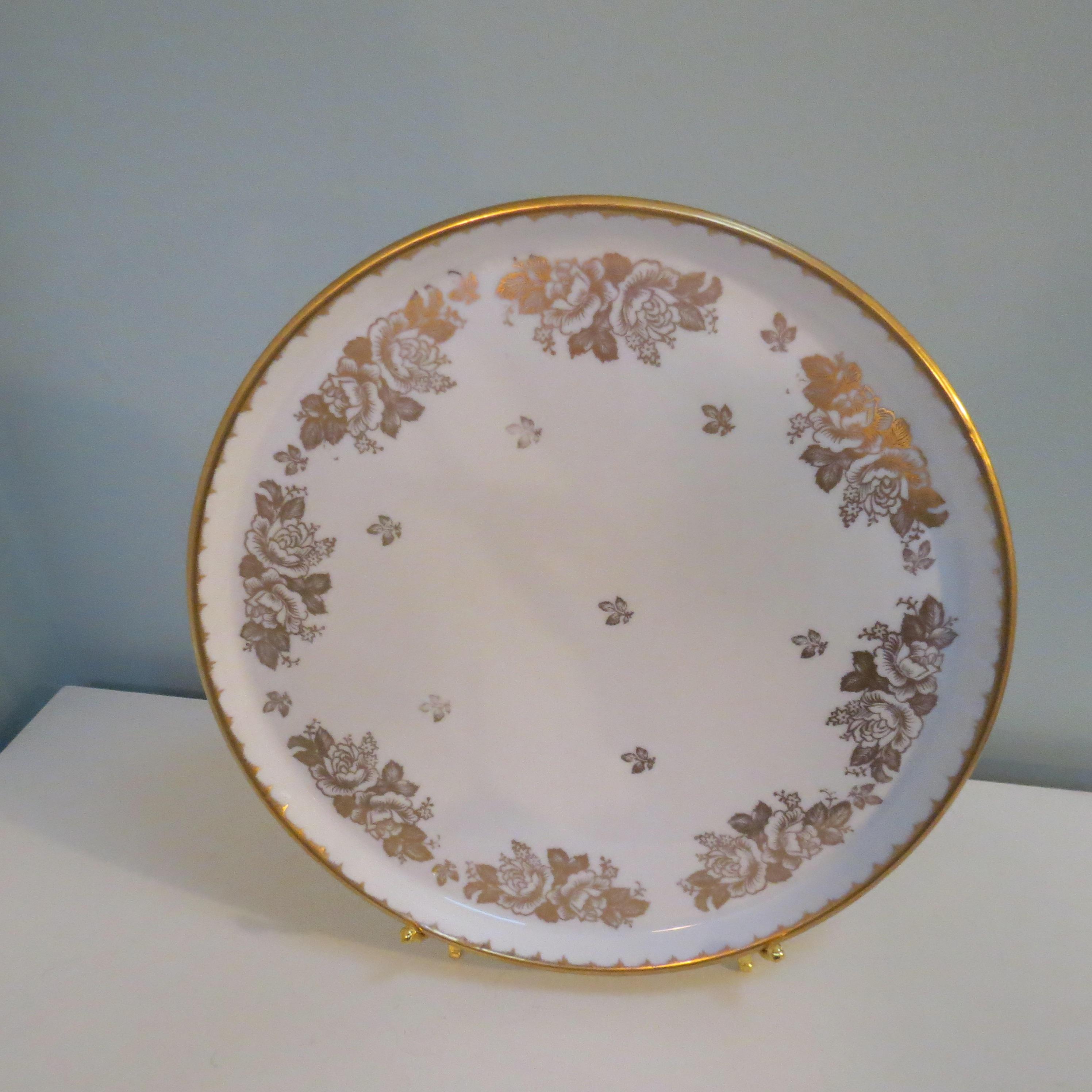 Image 3 of Antique Revol Porcelain China Plate