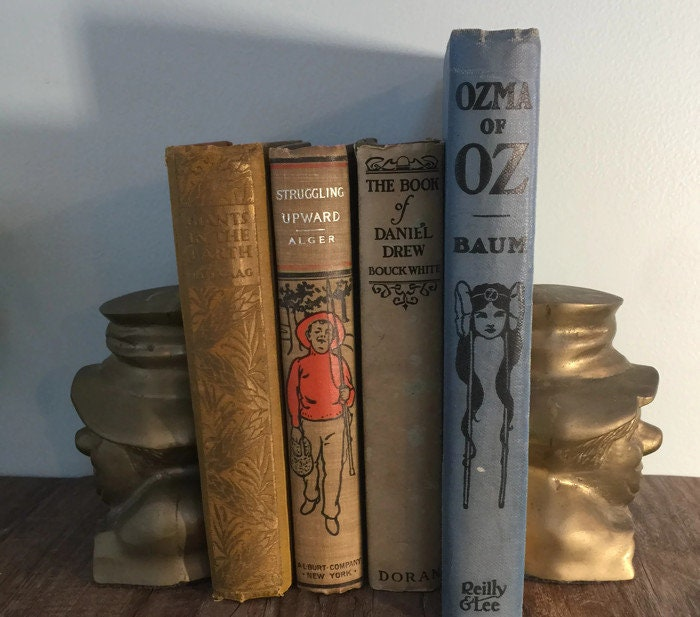 Image 1 of Vintage Clown Bookends