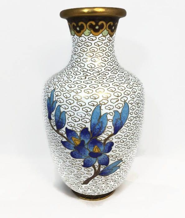 Image 3 of Vintage Cloisonne Vase