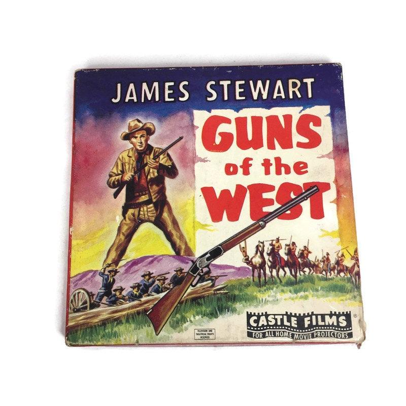 Vintage Guns of the West 8MM Film Reel