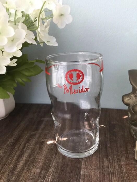 Vintage Maridor Framingham Restaurant Glass