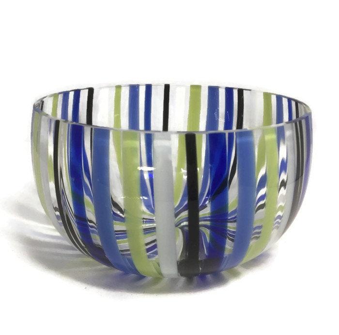Image 4 of Mid century Murano Glass bowl by Venini
