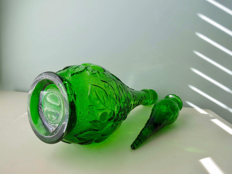Image 5 of Mid Century Empoli Glass Bottle