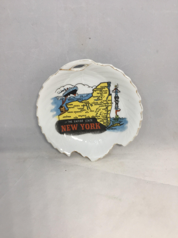 Vintage New York Souvenir Dish
