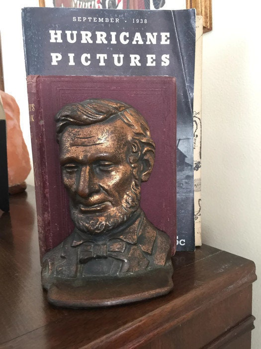 Image 8 of Antique Abe Lincoln Bookends