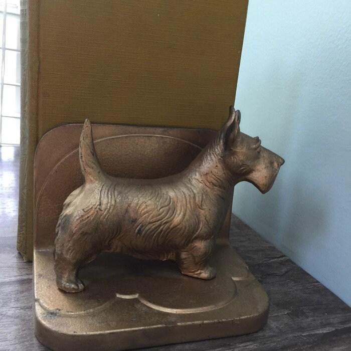Image 7 of Vintage Scottie dog Bookends