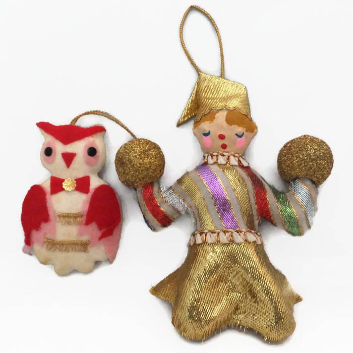 1960s Mid Century Christmas Ornaments