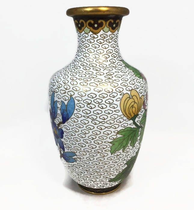 Image 9 of Vintage Cloisonne Vase