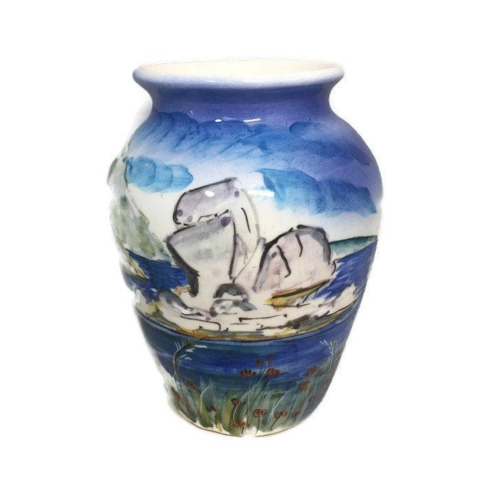 Vintage Greek Vase
