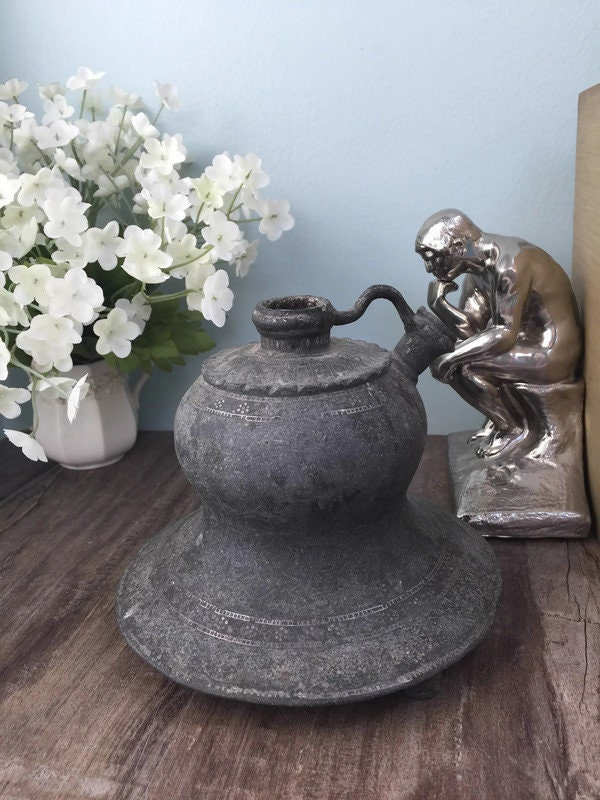 Antique Oil Lamp Base