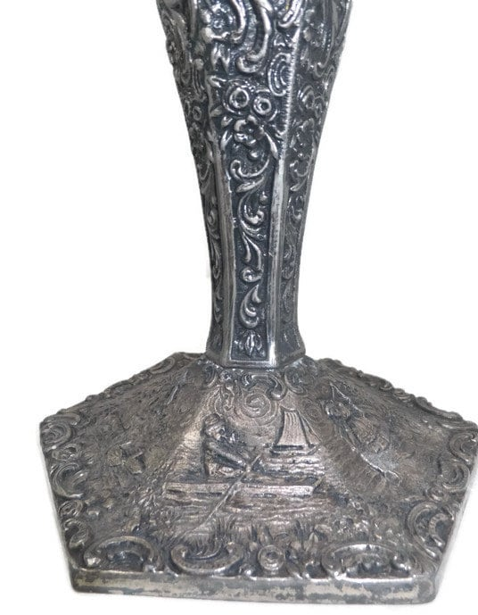 Image 4 of 1920s Metal Vase