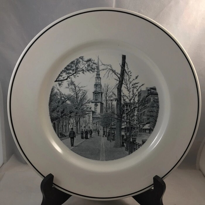 Image 5 of Vintage Copeland Spode Boston Plate