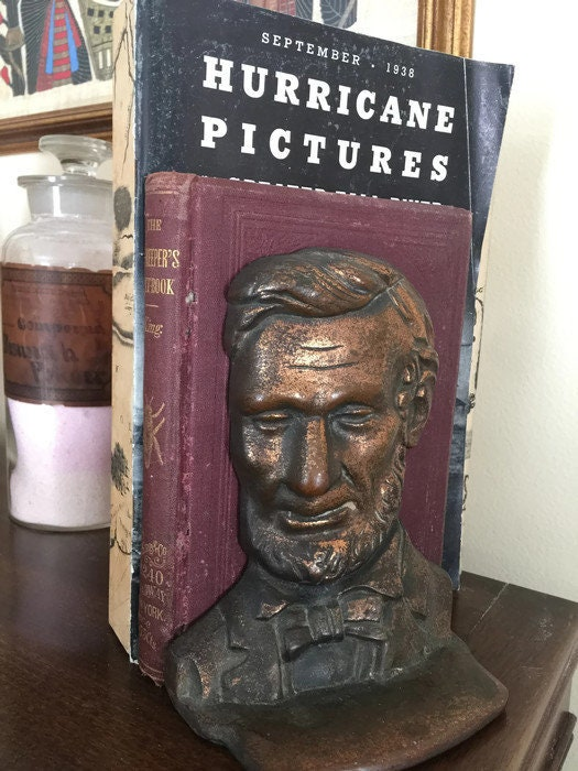 Image 6 of Antique Abe Lincoln Bookends